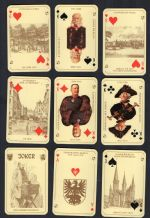 Collectible playing cards. Alt-Berliner, 1976 by ASS